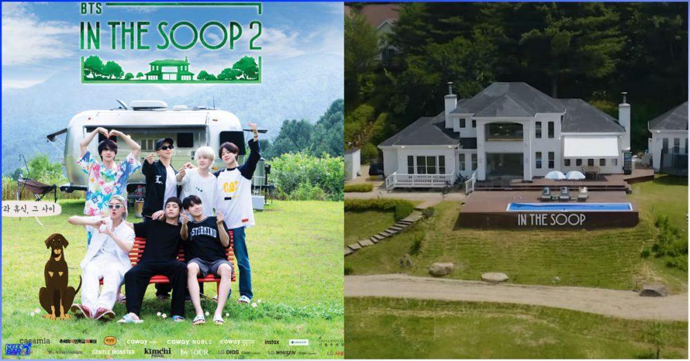 'BTS In The Soop Season 2' ရိုက်ကွင်းနေရာကို ဝမ် ၁.၂၉၅ ဘီလီယံနဲ့ ဝယ်ယူခဲ့တဲ့ HYBE Labels