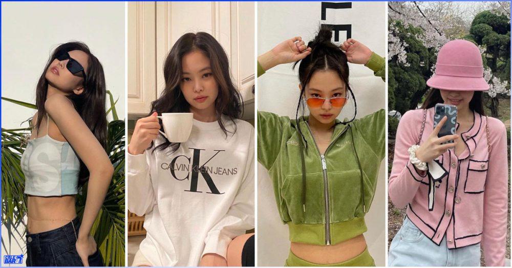 နွေဦးကနေ အစချီလို့ ဆောင်းဦးအထိ ဘယ် season မဆို အထာကျအောင် ဝတ်တတ်တဲ့ Jennie ရဲ့ Fashion style များ