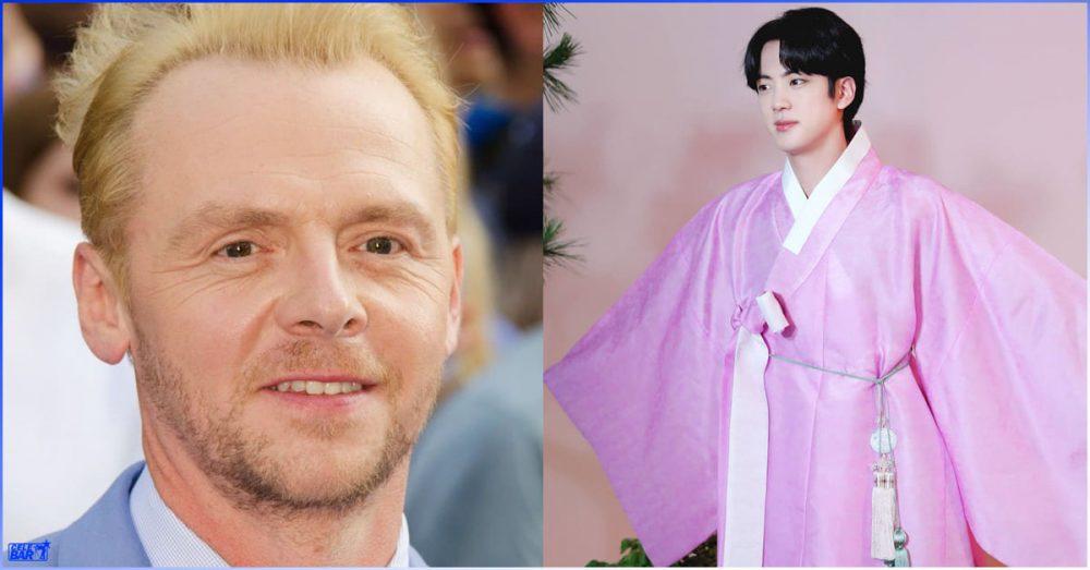 Jin နဲ့အတူ တွဲဖက်ပြီး ဇာတ်လမ်းရိုက်ကူးဖို့အကြံပြုချက်ကို လက်ခံခဲ့တဲ့ Simon Pegg