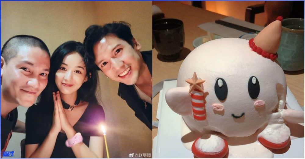 မွေးနေ့မတိုင်ခင် မွေးနေ့ပွဲအစောကြီး ပြုလုပ်ခံလိုက်ရတဲ့ Zhao Liying
