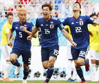 日本 コロンビアに勝利