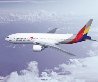 韓国アシアナ航空の機内食