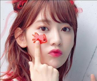 【HKT48】宮脇咲良「世界で最も美しい顔」2年連続ノミネート