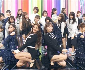 """【画像あり】AKB48、乃木坂46、欅坂46、IZ*ONEが""""夢""""の共演。豪華すぎると話題に!!"""