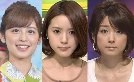 【衝撃】業界人が選ぶ「嫌いな女子アナ」15人のうち8人がフジテレビ