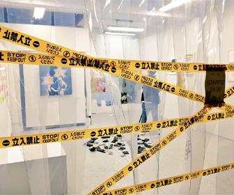 【動画あり】東京で「盗めるアート展」開催→開始時刻30分前に人がなだれこみ、一瞬で全作品が盗まれる