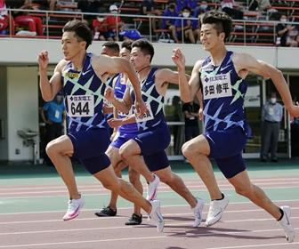 山県亮太、日本新9秒95