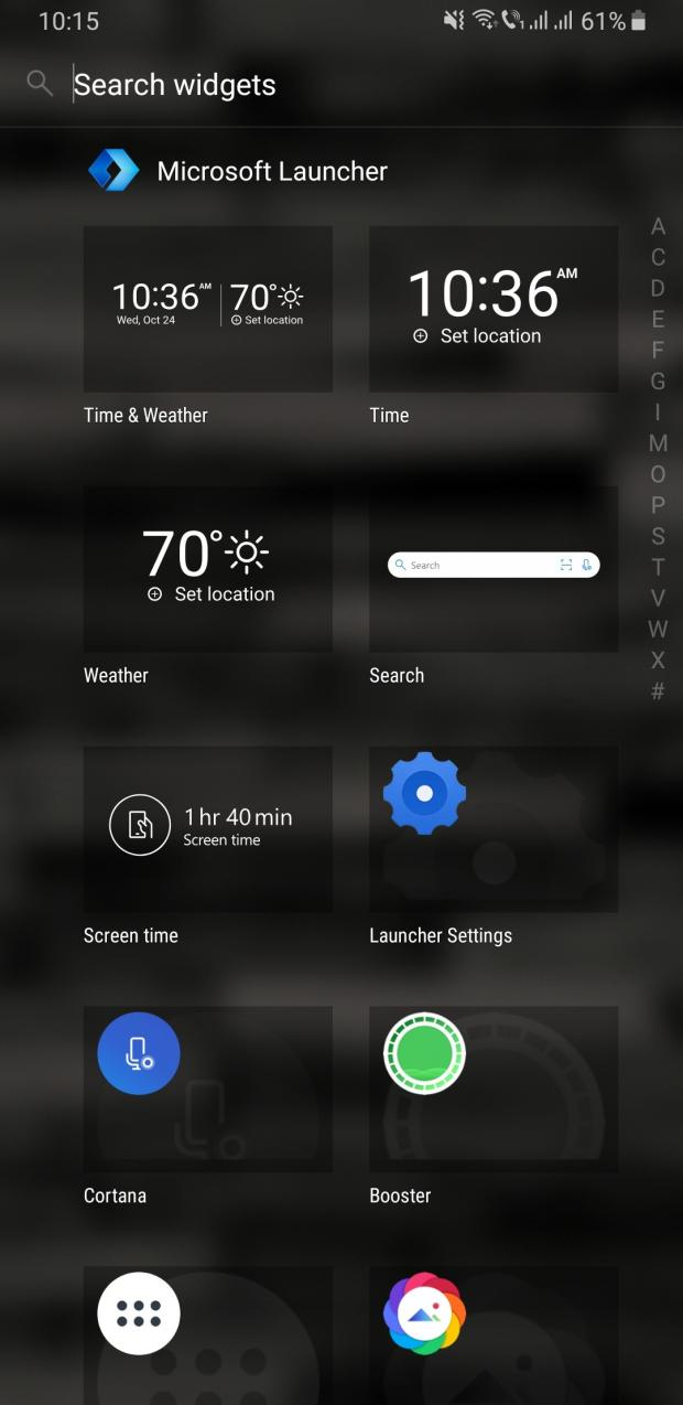 Microsoft Launcher 5 3 Announced with Redesigned Widgets