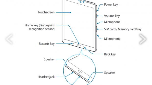 Samsung Galaxy Tab S3 Manual Leaks Revealing New S Pen