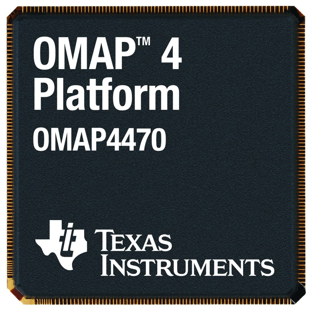 hight resolution of texas instruments omap 4470 marketing shot