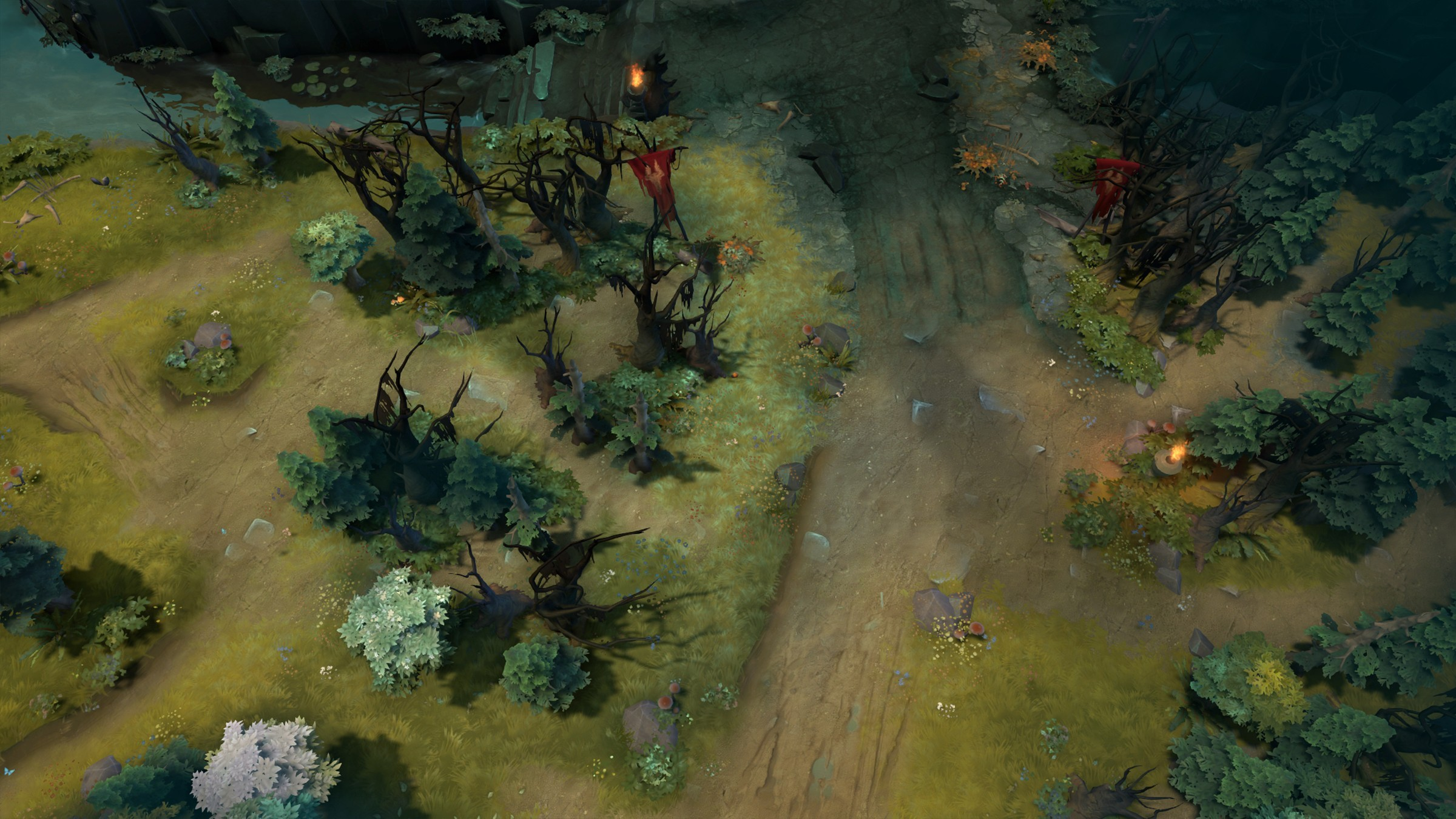 Dota 2 682 Patch Brings Major Map Layout Changes Screenshots