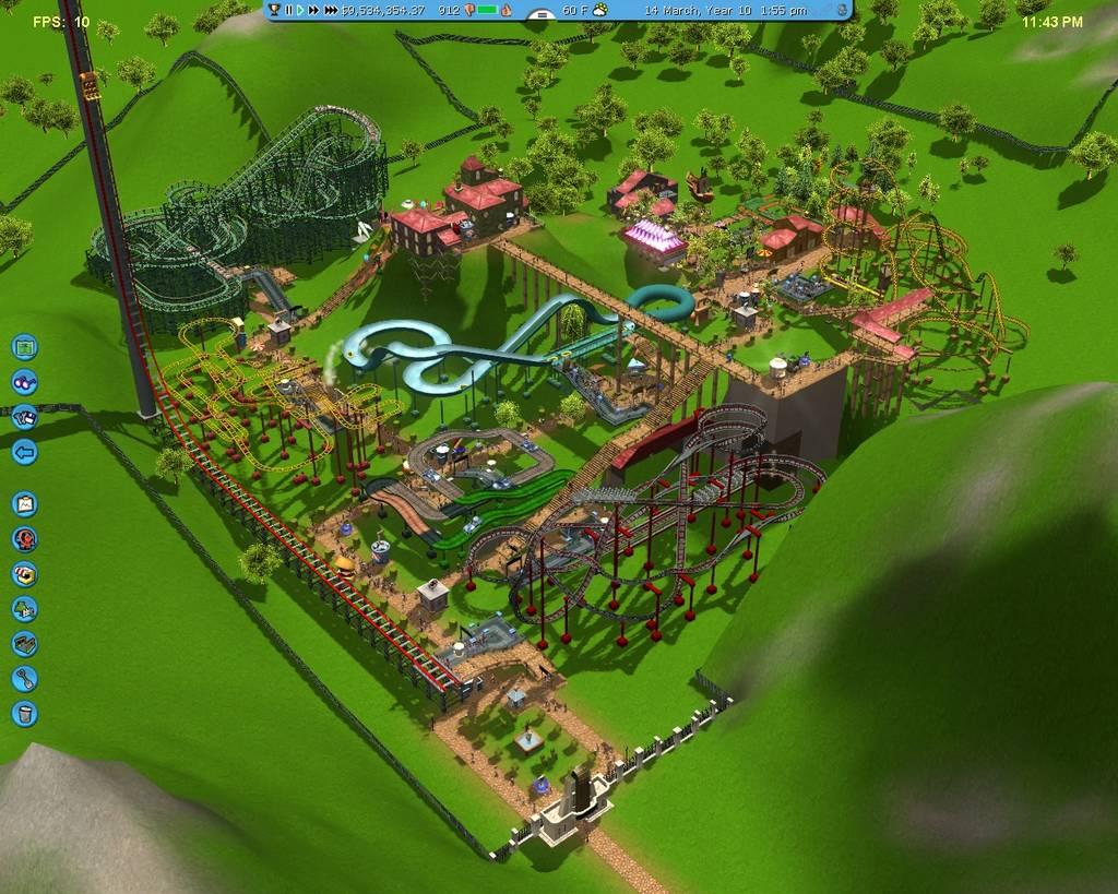 Elite Dangerous Dev Announces Coaster Park Tycoon for 2016