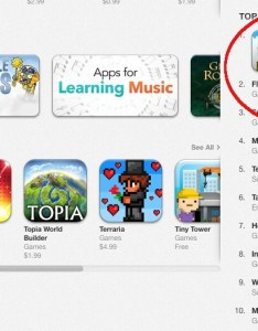 Flappy games top the charts also continue to dominate free apps chart on itunes rh macftpedia