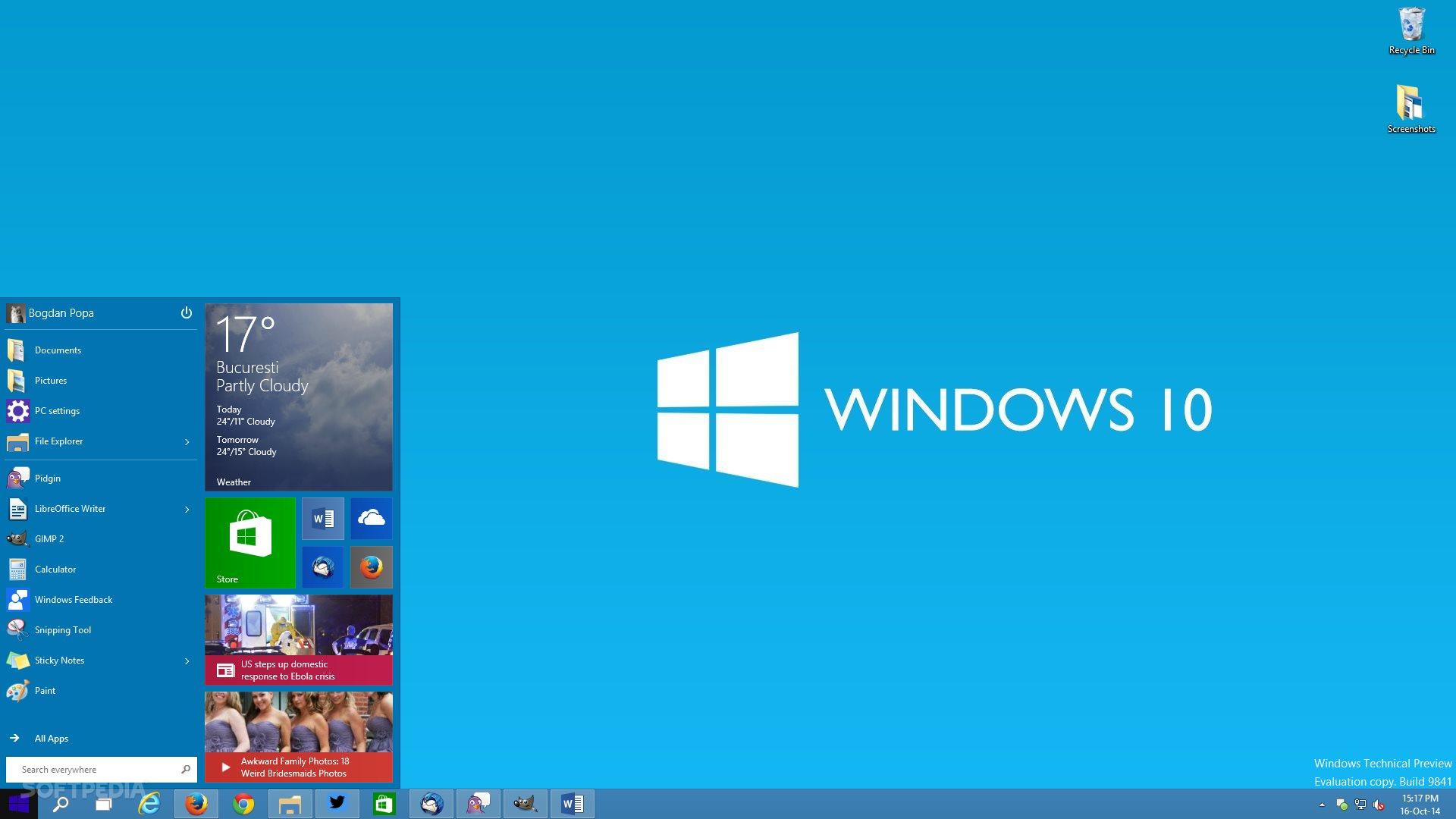 windows 10 consumer preview