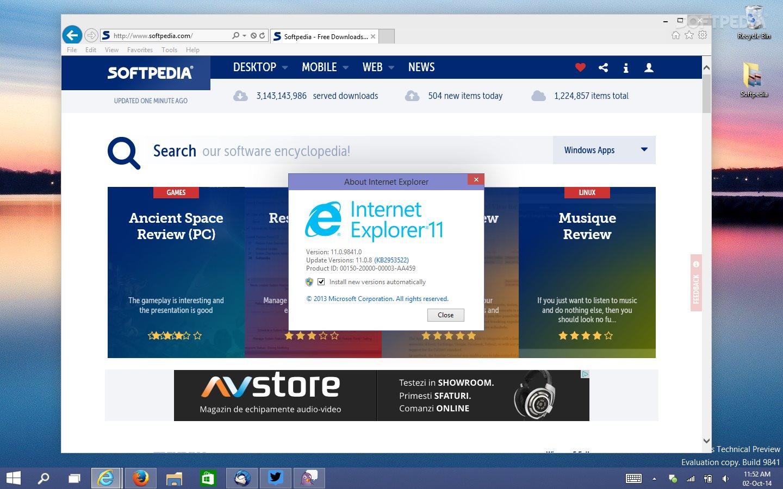 windows 10 internet explorer