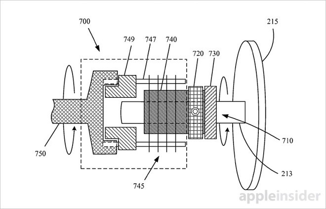 Apple Files Patent for Manual Winding Mechanism for Apple