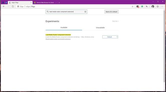 Como ativar o suporte ao Chromecast no Chromium Edge