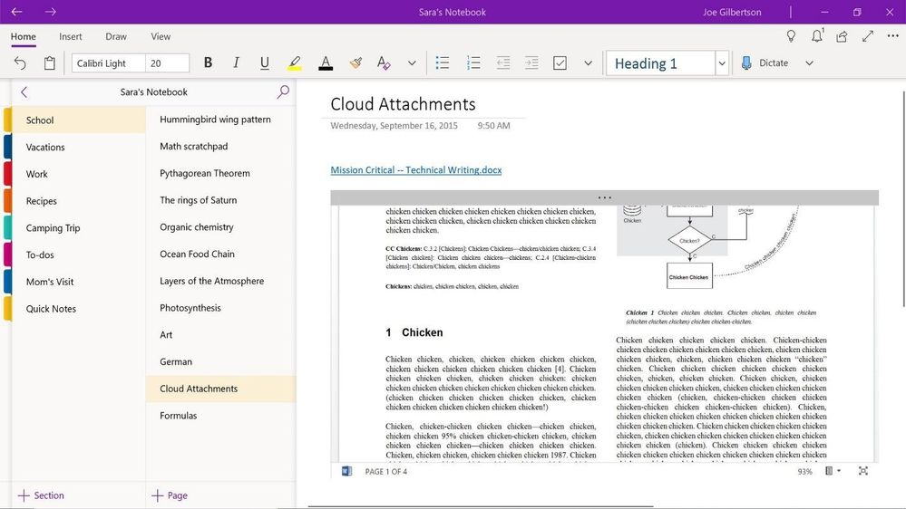 Microsoft Announces Major OneNote Update for Windows 10 and macOS