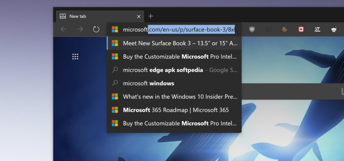 Microsoft Edge closes every time you type in the search bar, so you can fix it