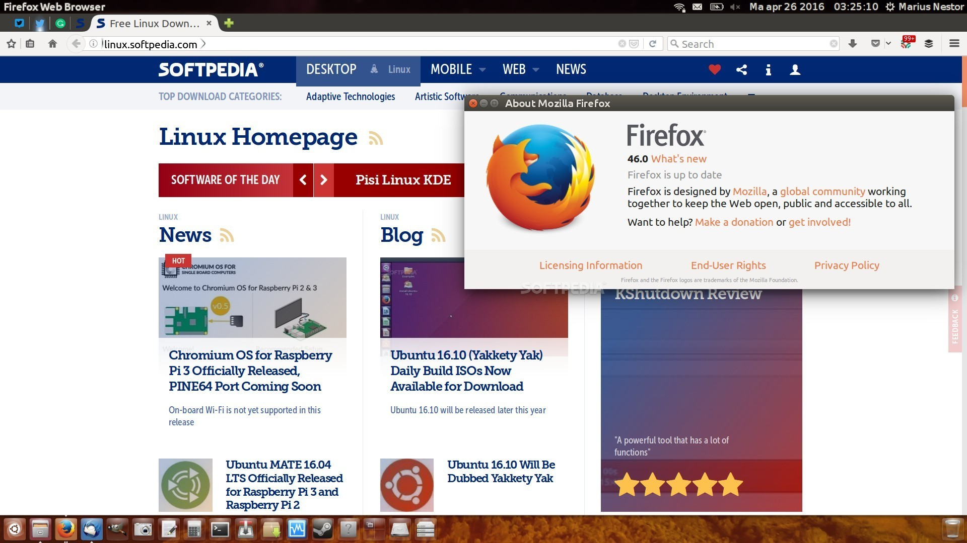 Mozilla Releases Firefox 46.0.1 to Fix Bugs and Limit Sync Registration Updates