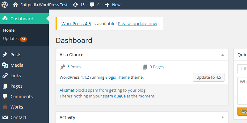 WordPress 4.5 Available for Download. No REST API Included