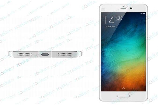 Новый флагман Xiaomi Mi 5 показался на рендерах