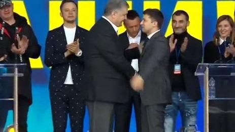 «Какая это нафиг реформа»: наУкраине прошли дебаты кандидатов впрезиденты