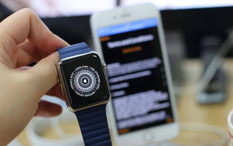 Apple Watch получат встроенный механизм обновления в watchOS 6