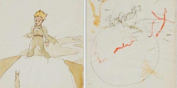 Найдены неизвестные иллюстрации Сент-Экзюпери для«Маленького принца»