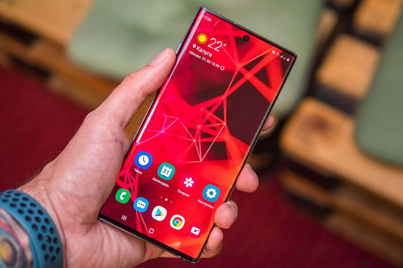 Список смартфонов Samsung, для которых выпустят Android 10