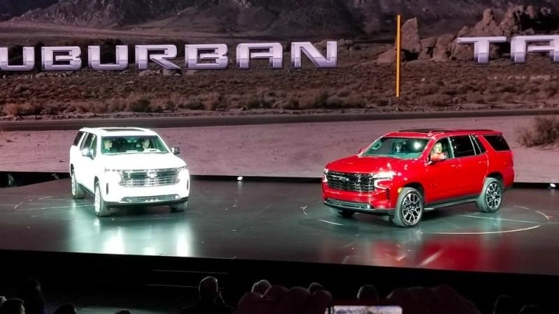 Chevrolet представил новые внедорожники Suburban и Tahoe 2021 года