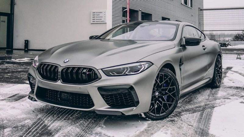 В Украине засветилось самое мощное в истории купе BMW