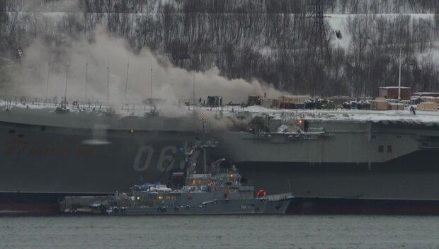 Самый позорный крейсер Путина сгорел не выйдя в море: есть пострадавшие и погибшие