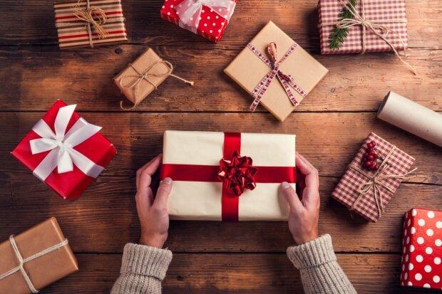 Новогодний подарок, фото: vnebo.ua
