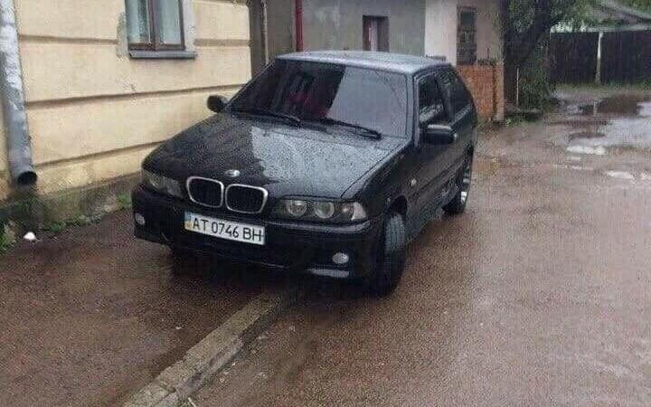В Украине сфотографировали секретную модель BMW