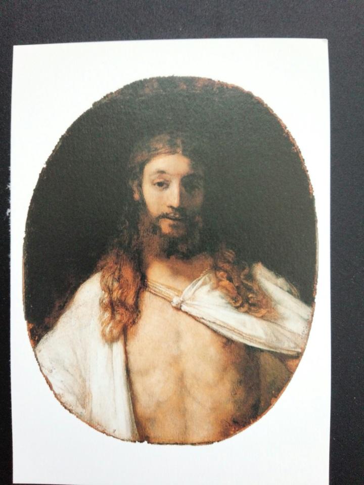 アートカードブック レンブラント「復活のキリスト」