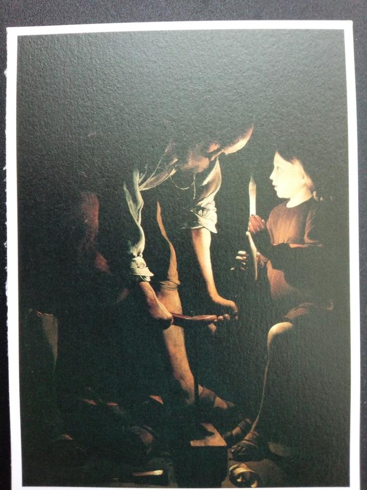 アートカードブック ラ・トゥール「大工の聖ヨセフ」