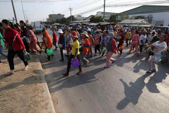 ဥရောပသမဂ္ဂက ကမ္ဘောဒီးယားအား လူ့ ...