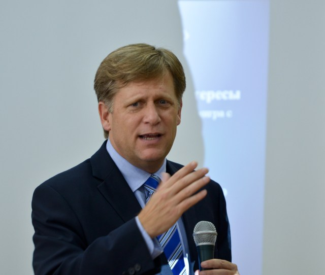 There Has To Be More Pressure Michael Mcfaul Americas Last Ambassador To Russia Discusses Putin And Ukraine