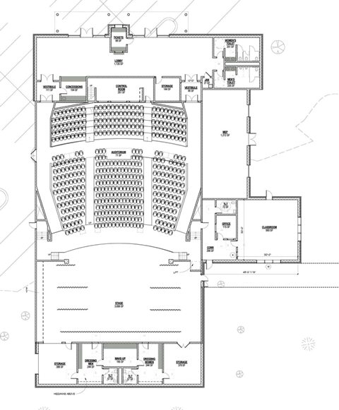 'Very preliminary' plans for CHS theater revealed