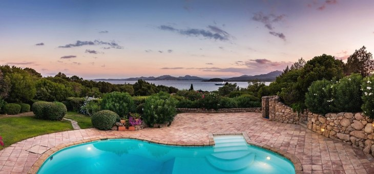Top 5 villas in Porto Cervo with sea view