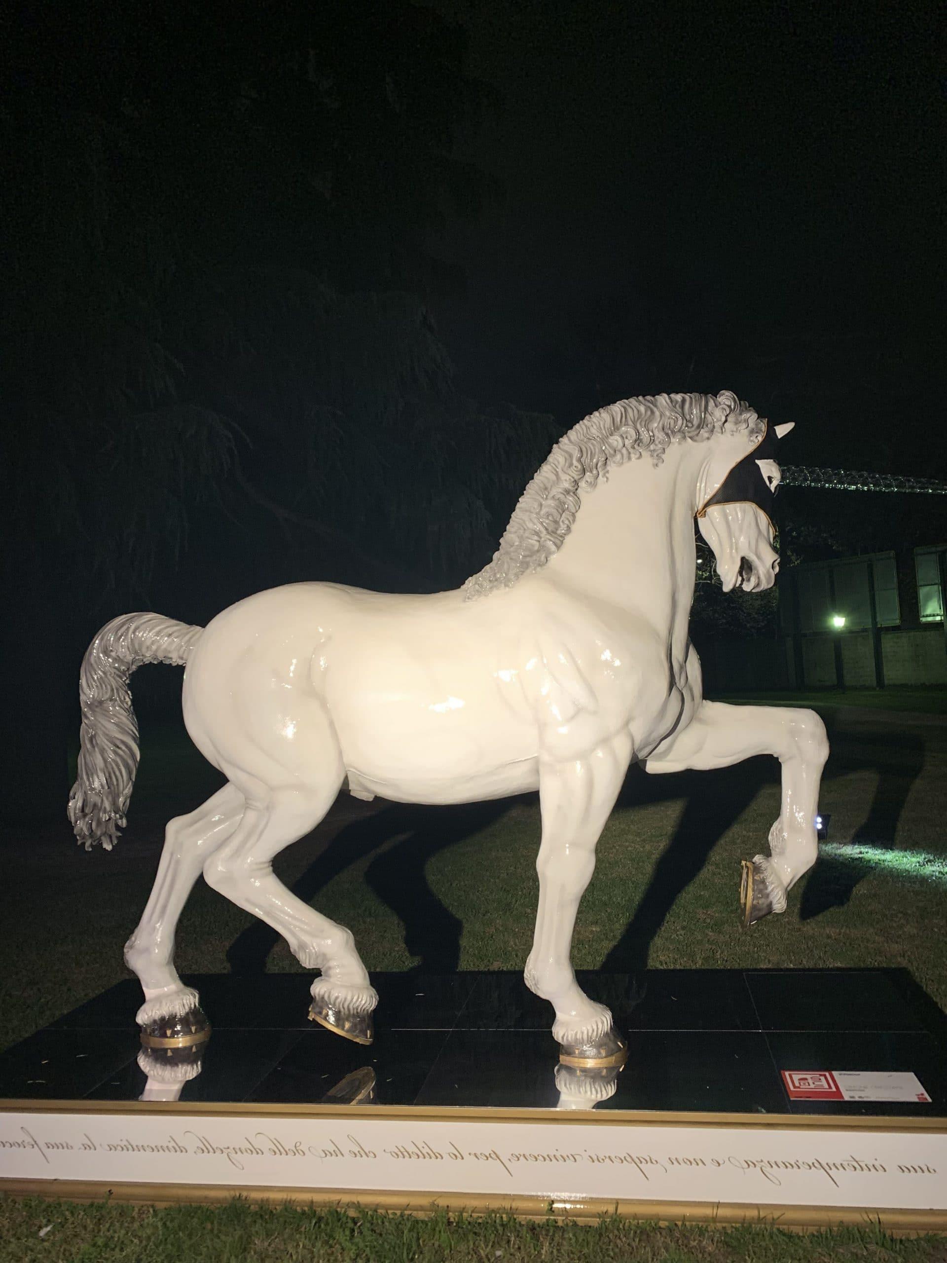 13 riproduzioni cavallo di Leonardo