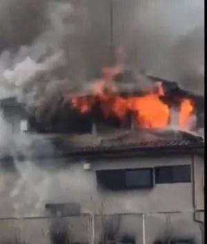 埼玉  東京 火事
