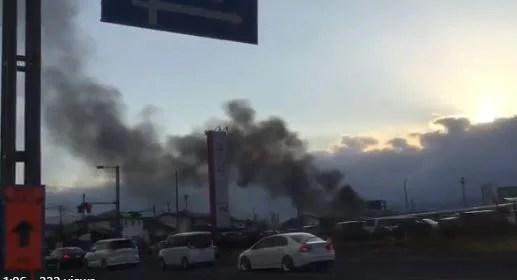イオン福島 火事 火災