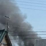 千葉 銚子市黒生町付近で火災