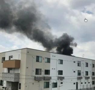 大阪 寝屋川市 池田1丁目 火事 火災