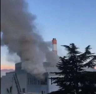 長野市資源再生センター 火災 火事