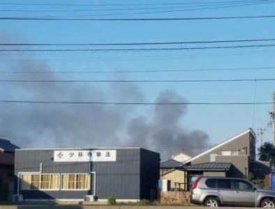 愛知県 豊川市 伊奈町 縫殿 火事 火災