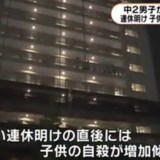 東京・品川区のマンションで男子中学生が飛び降り