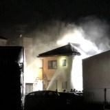 埼玉県行田市壱里山町付近で火災